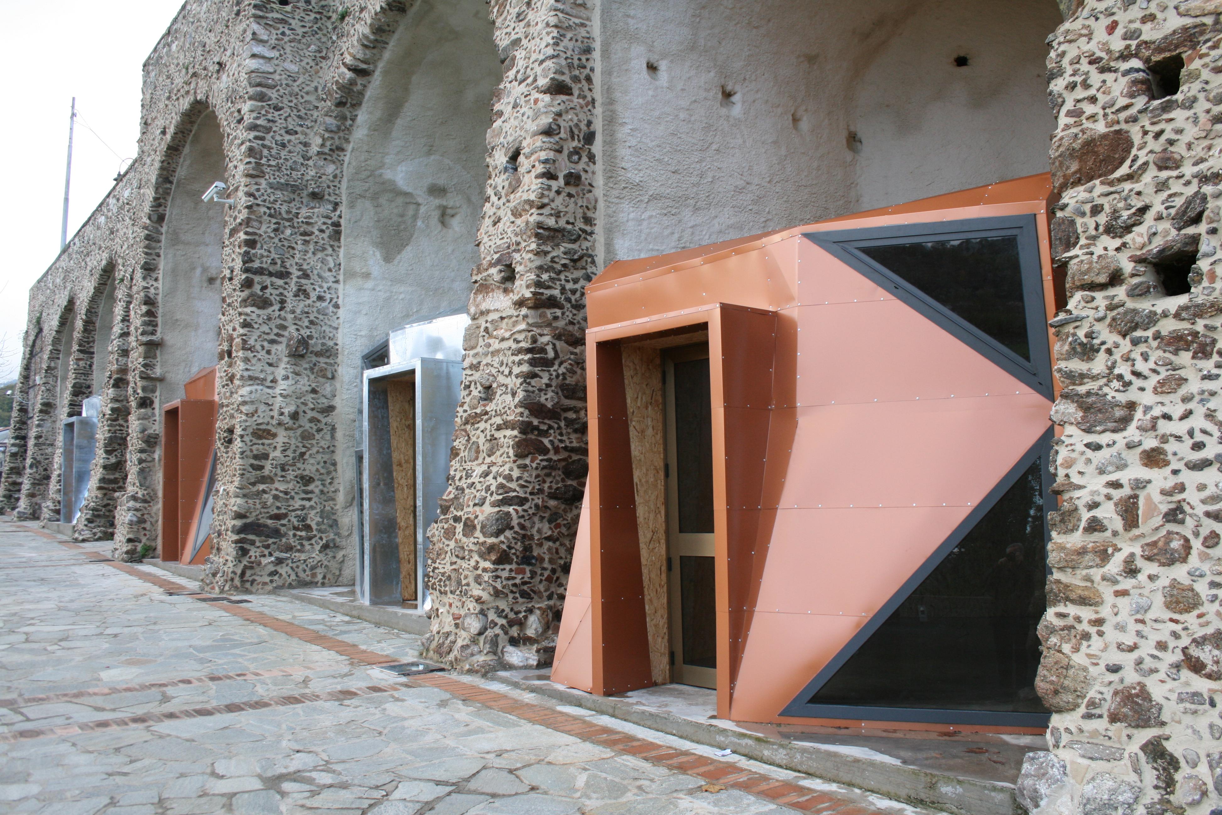 Le logge lotto 2 riqualificazione centro storico san vito sullo ionio 2010 2014 studio - Studio casa melzo ...